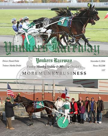 20141109 Race 9- Moremunkybusiness