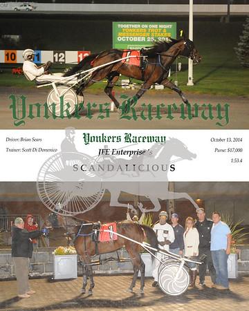 20141013 Race 8-Scandalicious