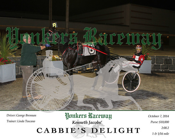 20141014 Race 9- Cabbie's Delight