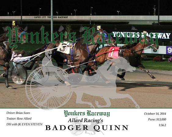 20141014 Race 7- Badger Quinn