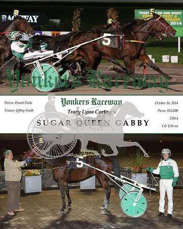 20141016 Race 2- Sugar Queen Gabby
