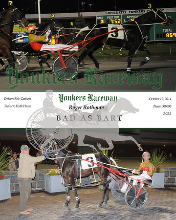 20141017 Race 3- Bad As Bart