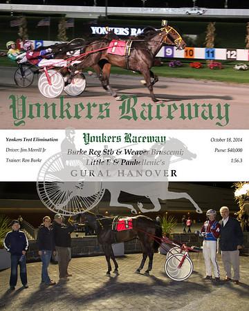 20141018 Race 5- Gural Hanover