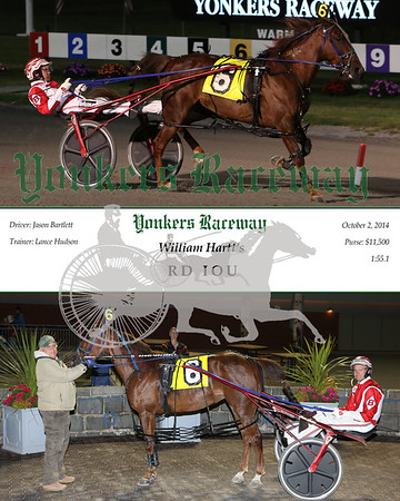 20141002 Race 4- RD IOU