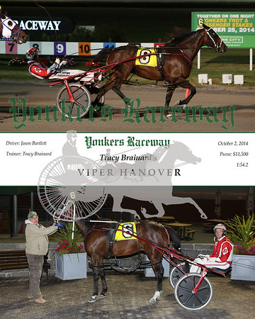 20141002 Race 7- Viper Hanover