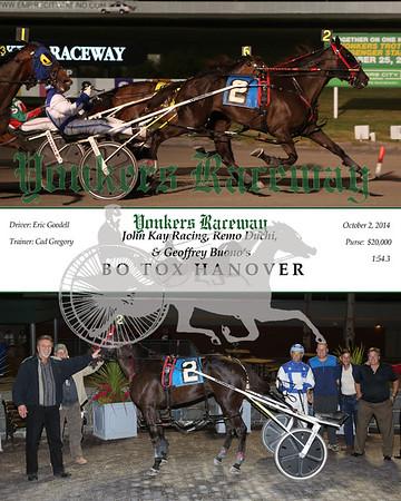 20141002 Race 9- Bo Tox Hanover