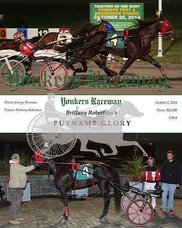 20141002 Race 8- Putnams Glory