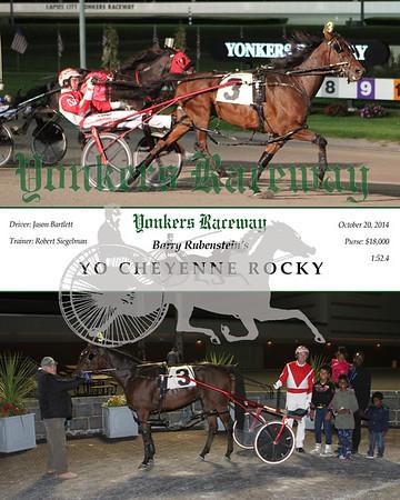 20141020 Race 12- Yo Cheyenne Rocky