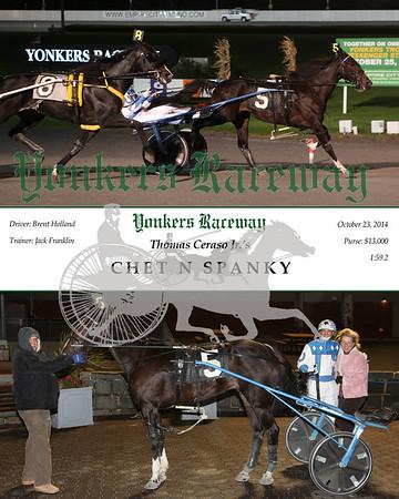 20141023 Race 2- Chet N Spanky