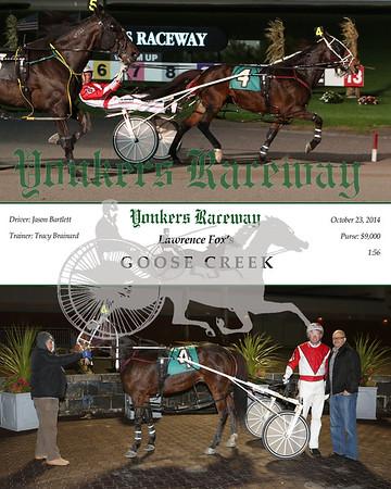 20141023 Race 6- Goose Creek