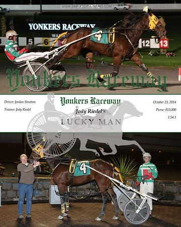 20141023 Race 9- Lucky Man