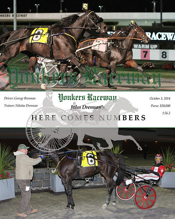 20141003 Race 2- Here Comes Numbers