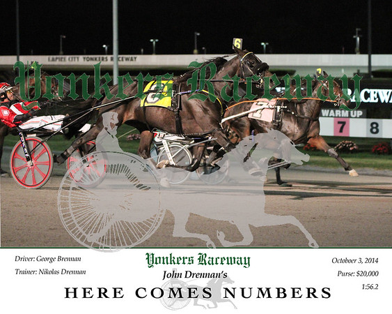 20141003 Race 2- Here Comes Numbers 2