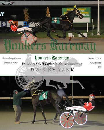 20141031 Race 8 - DW's NY Yank