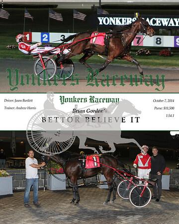 20141007 Race 4- Bettor Believe It