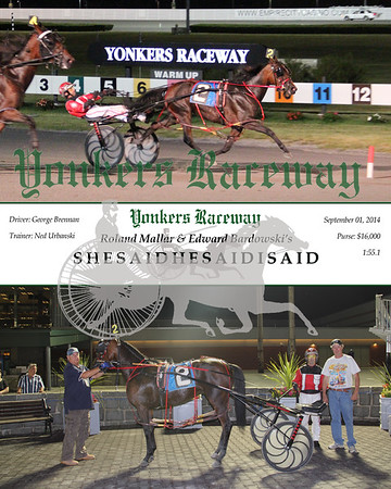 20140901 Race 8- Shesaidhesaidisaid