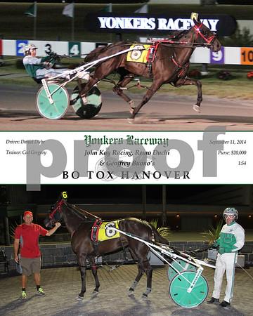 20140911 Race 12- Bo Tox Hanover
