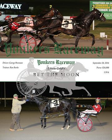 20140920 Race 12- Bet the Moon