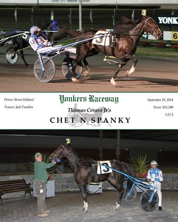 20140929 Race 5- Chet N Spanky
