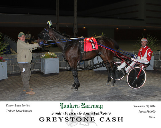 20140930 Race 4- Greystone Cash
