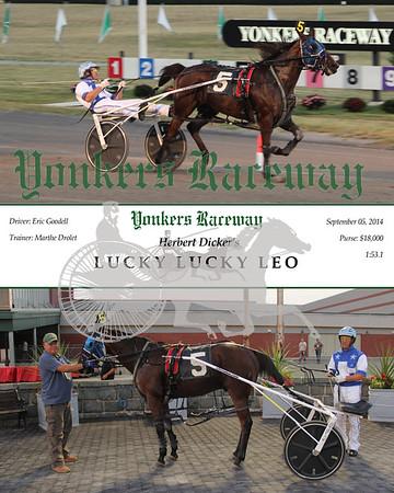 20140905 Race 1- Lucky Lucky Leo