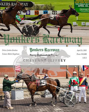 20150421 Race 1- Cheyenne Jeffrey