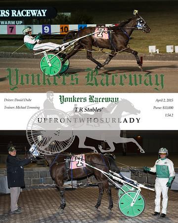 20150402 Race 6- Upfrontwhosurlady
