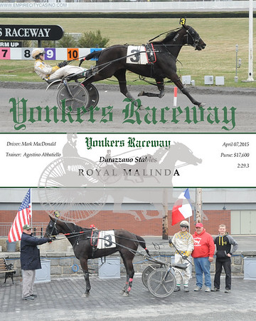 20150407 Race 7-Royal Malinda