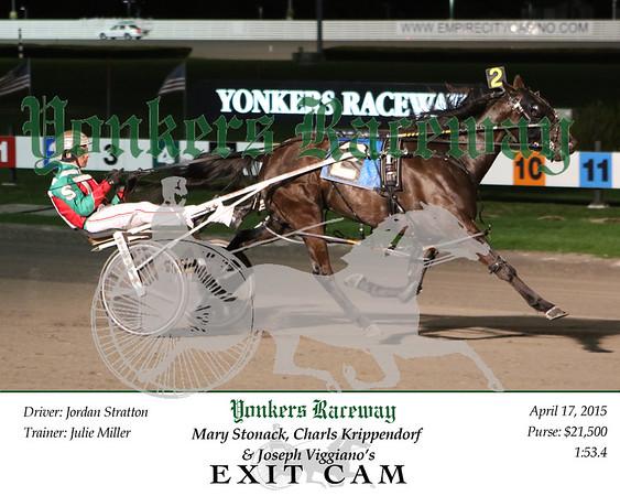 20150417 Race 12- Exit Cam