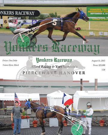 08112015 Race 4-Piercewave Hanover