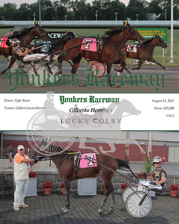 20150821 Race 2- Lucky Colby