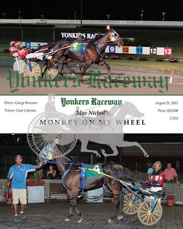 20150821 Race 5- Monkey On My Wheel