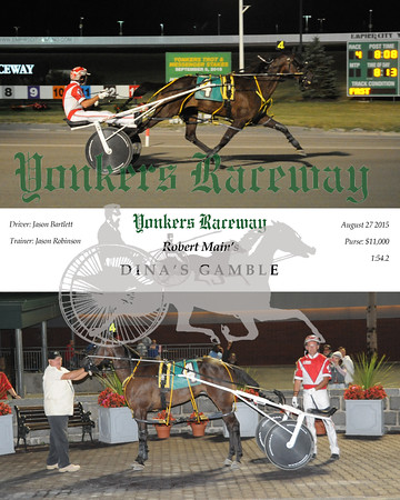 08272015 Race 4-Dina's Gamble