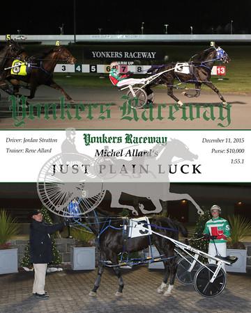 20151211 Race 5- Just Plain Luck
