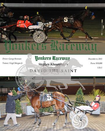 20151204 Race 7- David The Saint