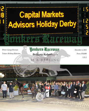 20151204 Race 3- Capital Markets Advisors Holiday Derby
