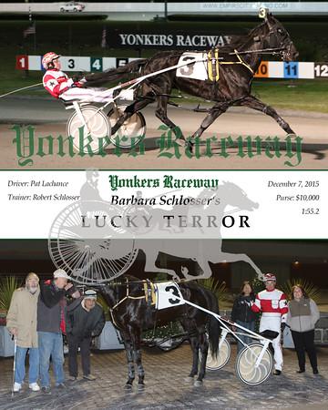 20151207 Race 5- Lucky Terror