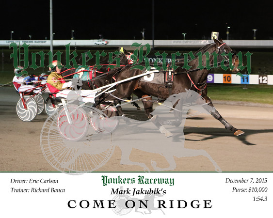 20151207 Race 6- Come On Ridge