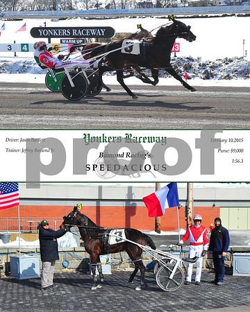20150210 Race 1-Speedacious