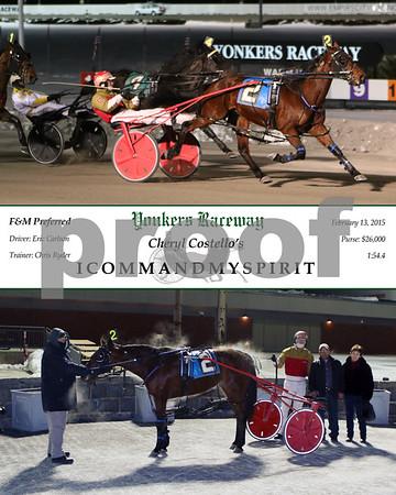 20150213 Race 8- Icommandmyspirit