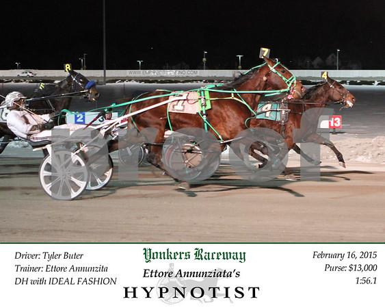 20150216 Race 8- Hypnotist