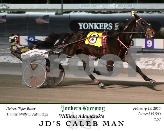 20150219 Race 9- JD's Caleb Man