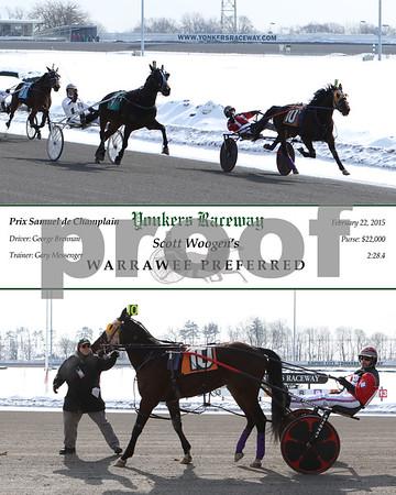 2015022 Race 2- Warrawee Preferred