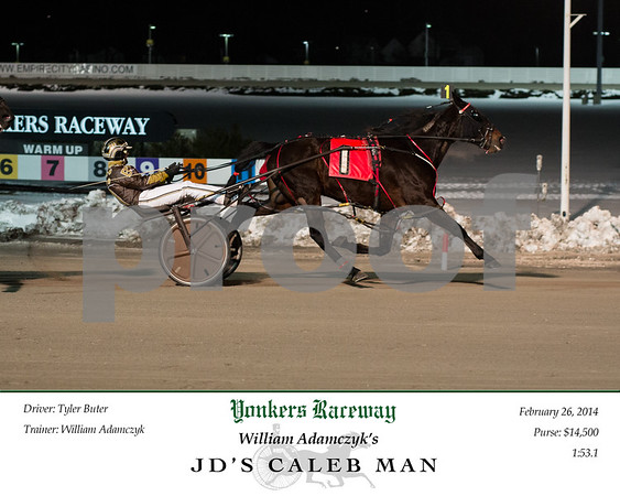 20150226 Race 7- JD's Caleb Man