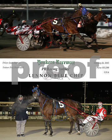 20150226 Race 9- Lennon Blue Chip
