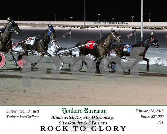20150228 Race 5- Rock To Glory