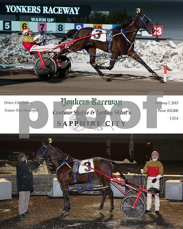 20150207 Race 8- Sapphire City