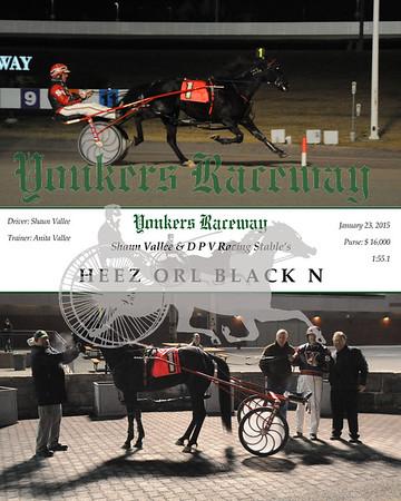 01232015 Race 5 - Heez Orl Black N