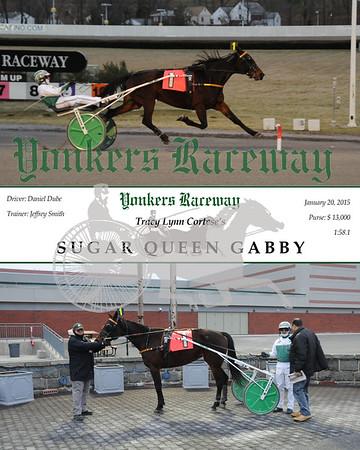 01202015 Race 11 - Sugar Queen Gabby