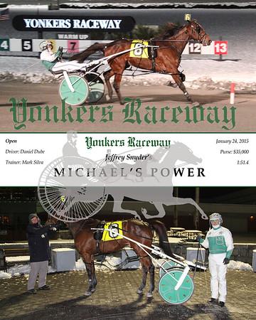 01242015 Race 6 - Michael's Power